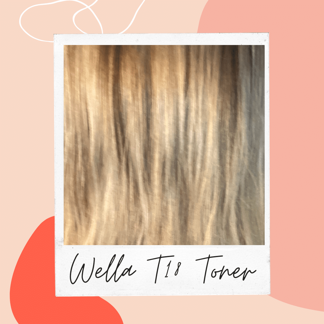 See Before And After Pictures Of Wella T18 Toner