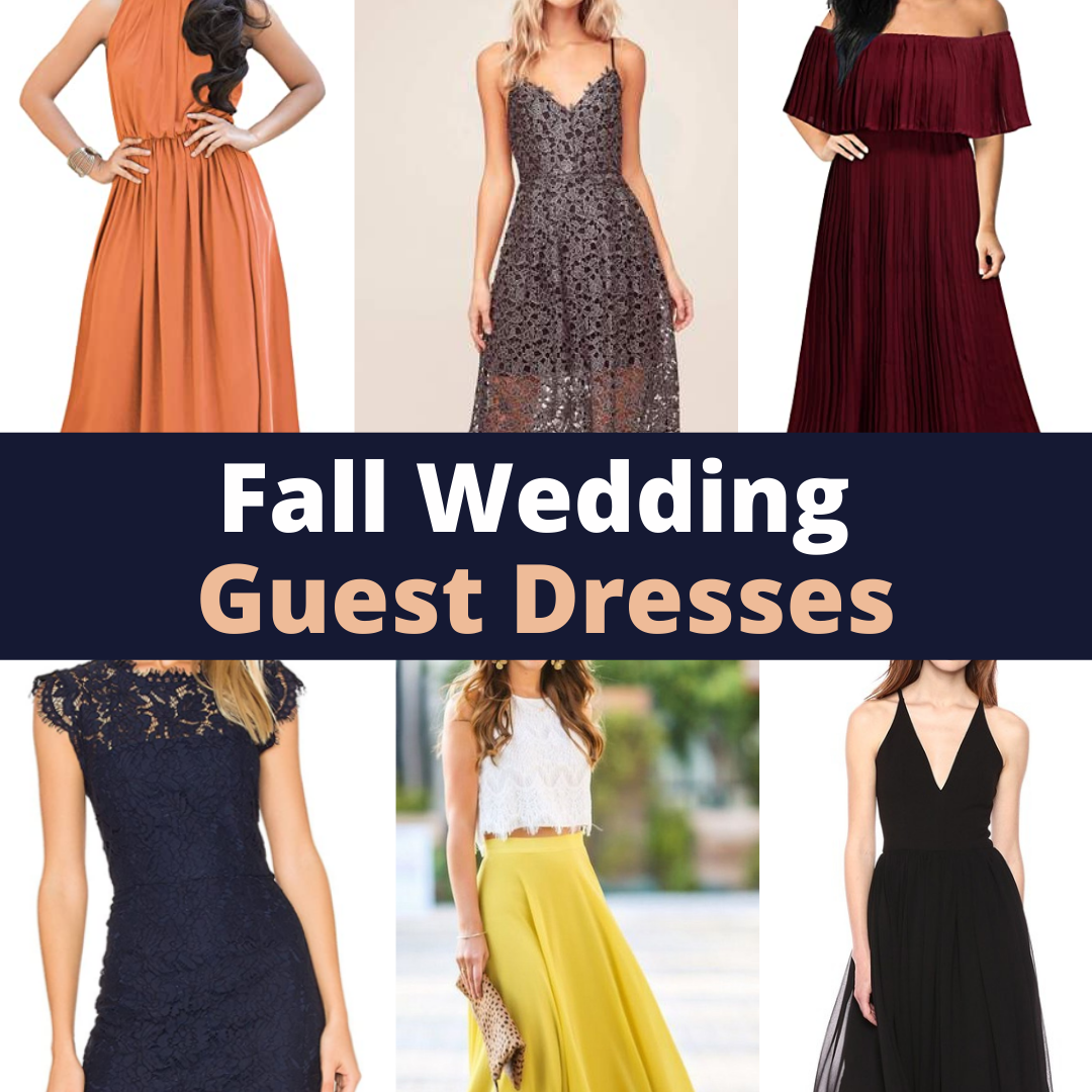 The 20 best affordable fall wedding guest dresses.
