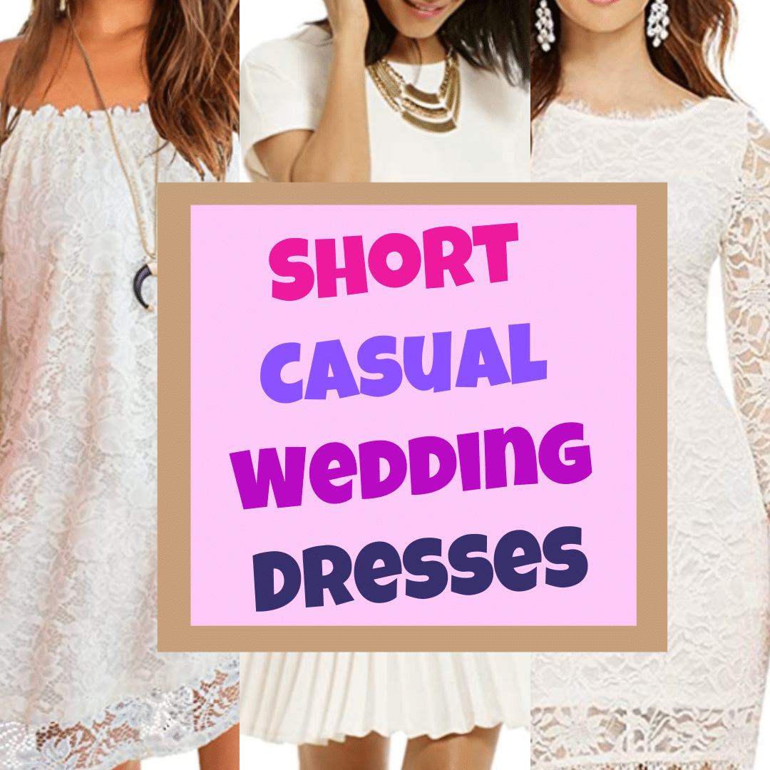 The Top 5 Casual And Simple Wedding Dresses For Elopement