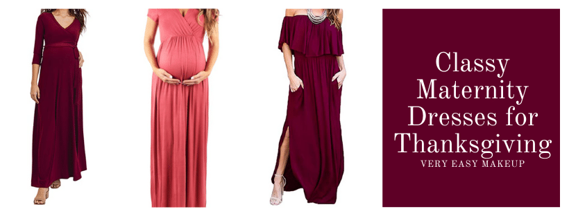 Affordable Maternity Clothes For Thanksgiving On Amazon